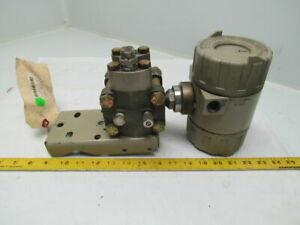 Bailey Bc23215110 Differential Pressure Transmitter 12 42vdc 30 h2o