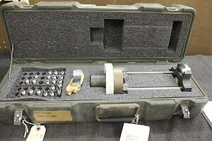 Rare Military Federal Barrel Bore Erosion Gage In Hardigg Case 726