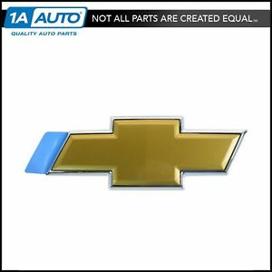 Oem Tailgate Liftgate Bowtie Emblem Gold For Chevy Suburban Tahoe Gm New