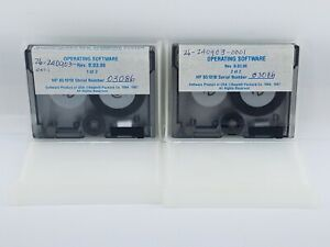 Agilent Hp Keysight 85101 60070 8510 Operating System Software 2 Data Tapes