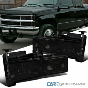 88 98 C10 C k Silverado Sierra 94 99 Suburban Smoke Lens Headlights Head Lamps