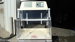 Plas labs Model 825 Pcr Chamber No Crazing No Cracks