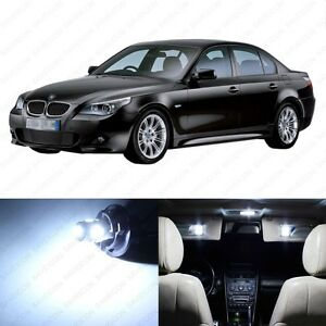 19 X White Led Interior Light Package For 2004 2010 Bmw 5 Series M5 E60 Tool