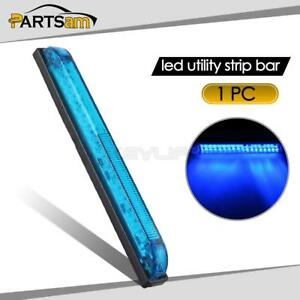 Waterproof 18led Utility Strip Light Blue 8inch Auto Side Light Decoration 12v