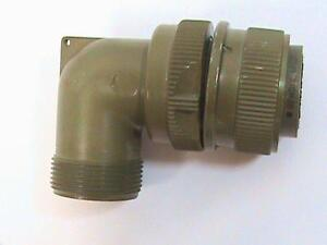 Bendix Ms3108 4s 90 Degree Right Angle Backshell Connector