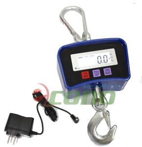 Digital Crane Hanging Scale 500kg 1100lbs Heavy Duty Industrial W led Display