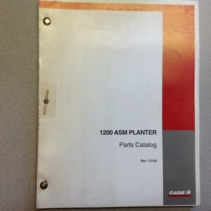 Caseih 1200 Asm Planter Parts Catalog