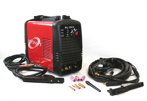 220v Dc Inverter 200 Amp Argon Gas Tig Arc Stick Mma Welding Steel Welder