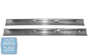 1971 74 Mopar B Body Coupe Door Sill Plates Licensed And Made In The Usa Pair