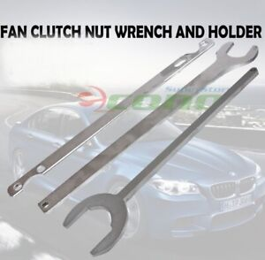 3pc Bmw Benz Gm Fan Clutch Nut Wrench Holder Water Hub Holding Tools