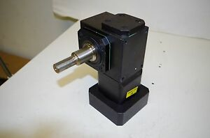 Textron Cone Drive Right Angle Gearhead Ratio 10 1 Mpid an hld