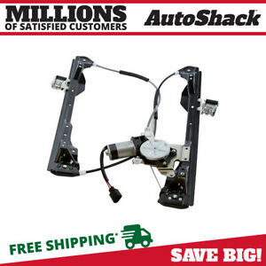 Front Driver Side Power Window Regulator W Motor Fits 2000 2006 2007 Ford Focus