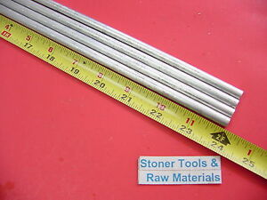 4 Pieces 5 16 Aluminum 6061 Round Rod 24 Long Solid Extruded Bar T6511