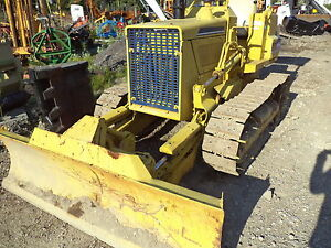 Komatsu D20 Dozer With 6 Way Blade New Pins And Sprocks Cat Color