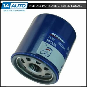 Ac Delco Pf1233 Engine Oil Filter For Chevy Pontiac Geo New