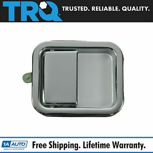 Trq Door Handle Outside Exterior Chrome Driver Side Lh For Jeep Wrangler Cj7
