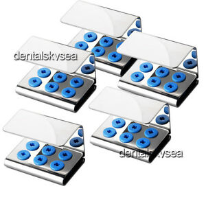 5x Dental Ultrasonic Piezo Scaler Tips Holder Fit Ems Woodpecker Dte Satelec
