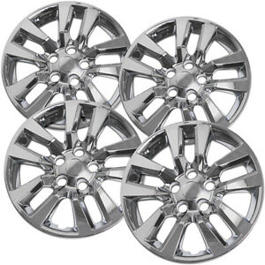 4 Pc Set New 16 Hub Cap Chrome Wheel Cover Fits Nissan Altima Quest 02 14