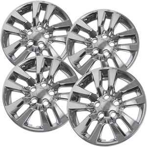 4 Pc Hubcaps Fits 02 14 Nissan Altima Quest 16 Chrome Replacement Wheel Cover