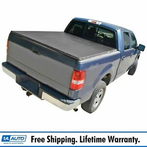 Tonneau Cover Hidden Snap For Toyota Tundra Crewmax Pickup Truck 5 5ft Short Bed