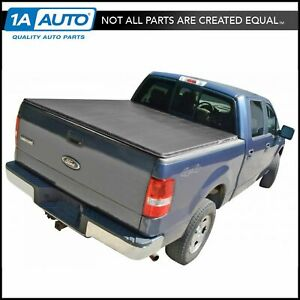 Tonneau Cover Hidden Snap For Ford F150 Pickup Truck Crew Cab 5 5ft Bed