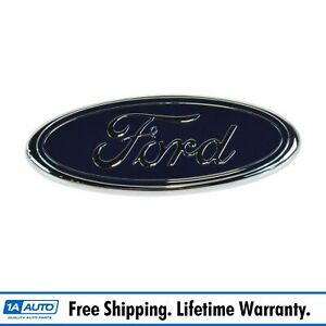 Oem F81z 8213 ab Blue Oval Grille Nameplate Emblem For Ford Pickup Truck Suv New