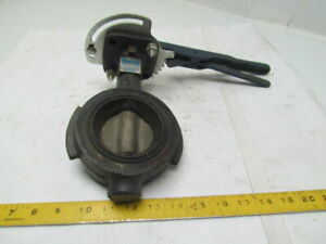 Nibco Wd3122 2 1 2 Butterfly Valve W lever lock Handle 250psi Iron