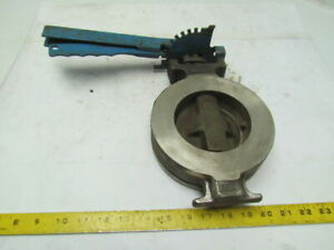 Rockwell Mccannalok 432l150s6ts6 4 Stainless Steel Butterfly Valve W lever lock