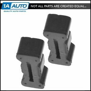Oem 15726082 Tailgate Latch Rubber Bumper Driver Passenger Pair For Chevy Gmc