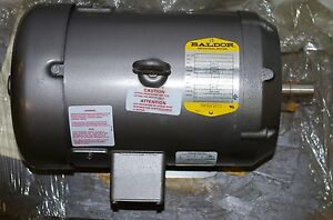 Baldor 1hp Field Wound Dc Motor Cd6219 90vdc 10amps 1750rpm Frame 184c