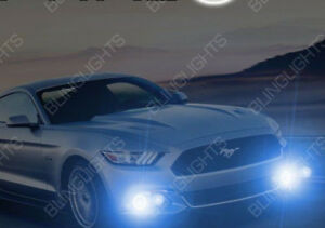 2015 2016 2017 Ford Mustang Non Halo Fog Lamps Driving Lights Kit