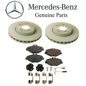 For Mercedes W211 E350 Front Disc Brake Rotor Vented Front Brake Pad Genuine