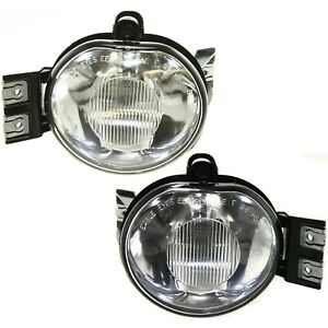 Fog Light Set Of 2 For 2002 2008 Dodge Ram 1500 2003 2009 Ram 2500 3500 Front