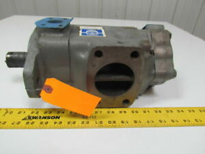 Vickers 3525v25a17 1dd22rh d95fw Hydraulic Double Vane Pump Right Hand Cw