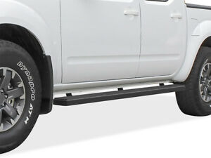 Iboard Running Boards 4 Matte Black Fit 05 19 Nissan Frontier Equator Crew Cab