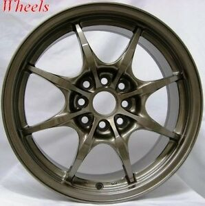15x6 5 Rota Circuit 8 Rims 4x100 Wheels Fits 4 Lug Civic Crx Del So Xa