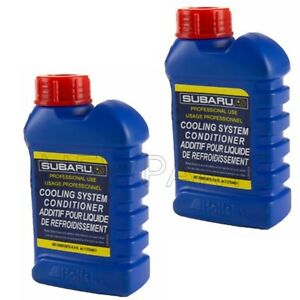 Set Of 2 4 4oz Engine Coolant Additives Cooling System Conditioner For Subaru
