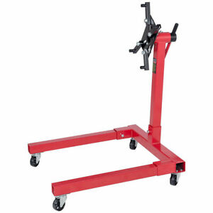 1250 Lbs Shop Engine Stand Pro Hoist Automotive Lift Rotating 2 Leg Type Motor