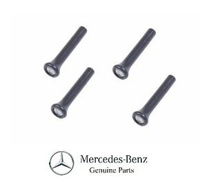 Set Of 4 Pieces Door Lock Knobs Genuine For Mercedes Benz 420sel 450se 450sel