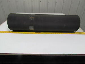 Black Pvc Conveyor Belt 34 wide 20ft Long 0 174 Thick 2 Ply
