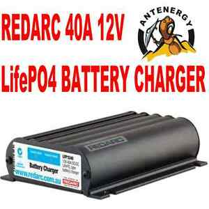 Redarc Lfp1240lv Lithium Battery Dual Isolator System Kit Dc To Dc Charger