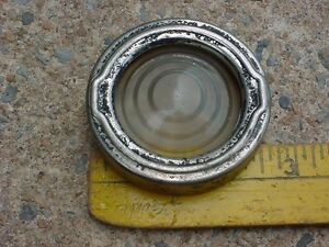 30s 40s 50s Maybe Interior Lamp Clear Glass Lens Bezel