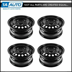 Dorman 15 Inch Steel Replacement Wheel Rim New Set Of 4 For 03 07 Honda Accord