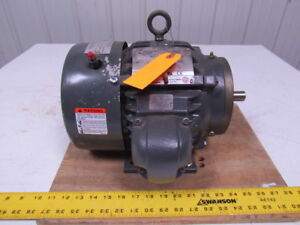 Emerson Us Motors A32p1c B654 1 5hp 3ph Electric Motor 3525rpm 460v 182 Frame