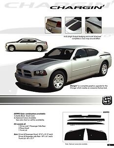 Graphics Kit Decals Stripes Emblems 0995 For Dodge Charger 2006 2010