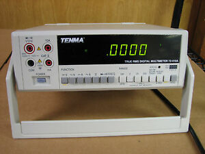 Tenma 72 410a True Rms Digital Multimeter With Warranty