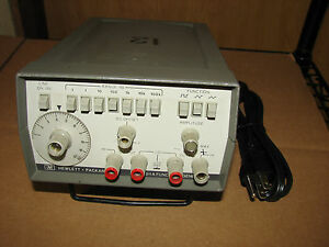 Hp 3311a Function Generator 0 1hz 1mhz Working With Warranty