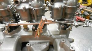 3x2 Prog Linkage Hot Rod Holley 94 Flathead Tri Power Stainless our Best