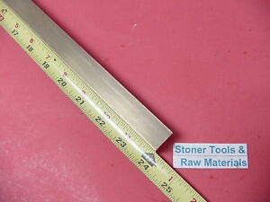 3 4 X 3 4 C360 Brass Square Bar 24 Long Solid 750 Flat Mill Stock H02