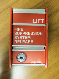 Fenwal Fire Alarm Pull Station 29 320000 286h 280 Non coded No Key